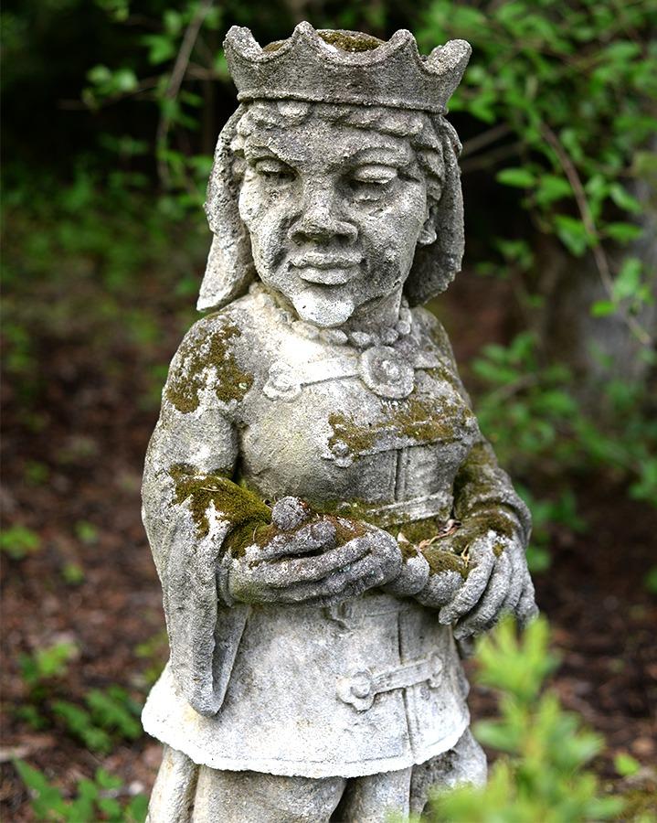 Chess Queen Statue