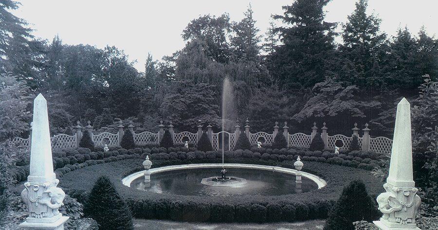 The Garden of the Gods during the Blanchard era, circa 1965.