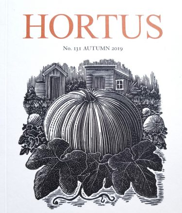 Hortus journal cover