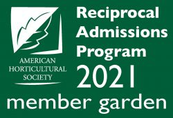 American Horticultural Society's Reciprocal Admissions Program